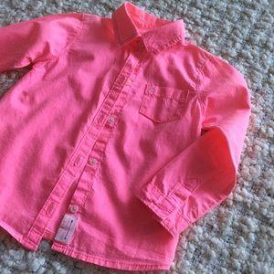 4/$20! Carters | Girls button down SHIRT | 3-4T